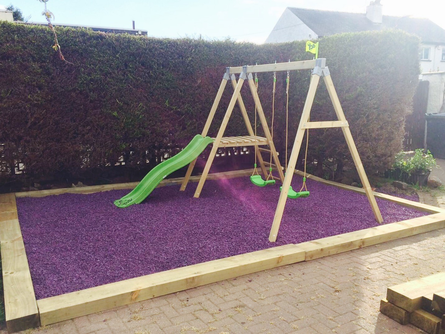 Playsafe Rubber Chippings For Play Areas Rebound