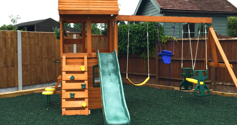 PLAYSAFE Rubber chippings