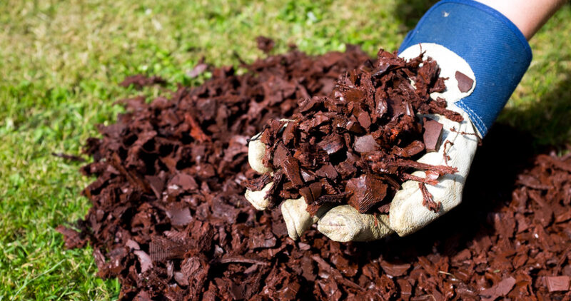 gardencare rubber chippings